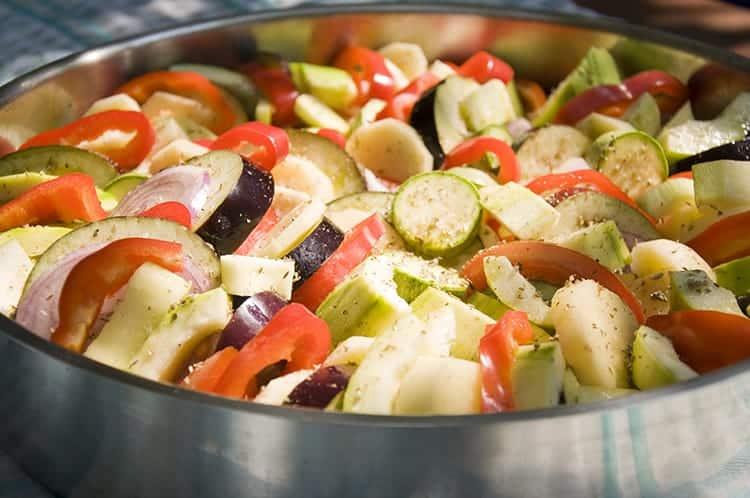 Briam - traditionelles griechisches Gericht + vegan!