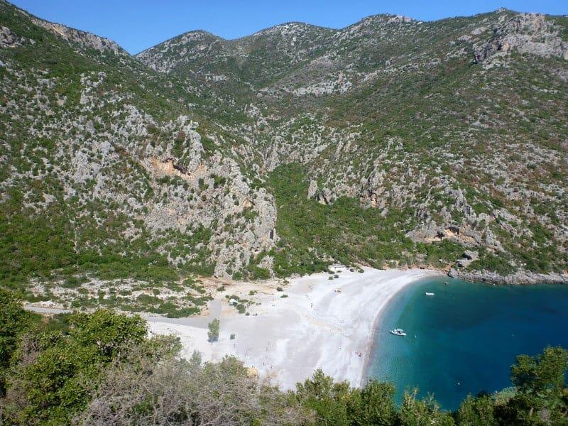 Vlychada Beach in Griechenland