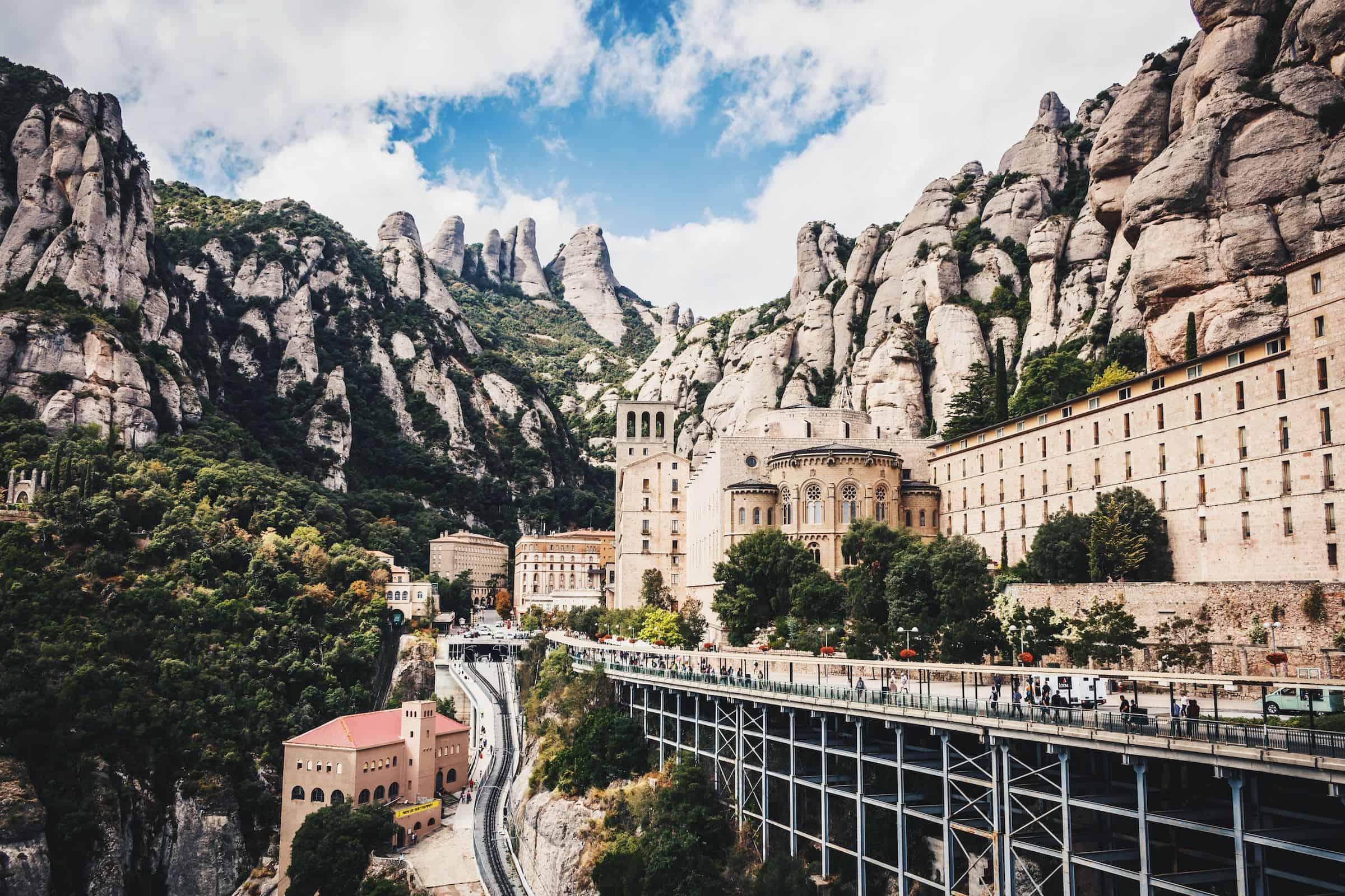 Vegan reisen in Spanien – Montserrat