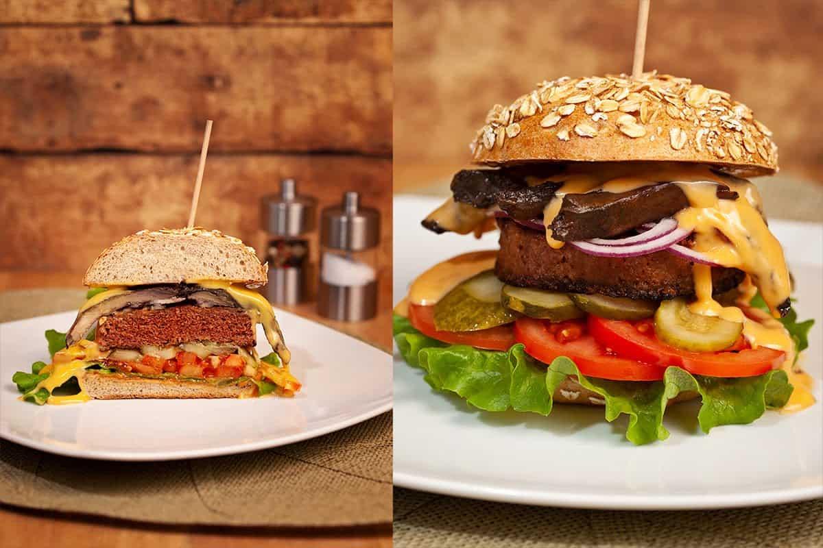 Vegan in Köln - Bunte Burger