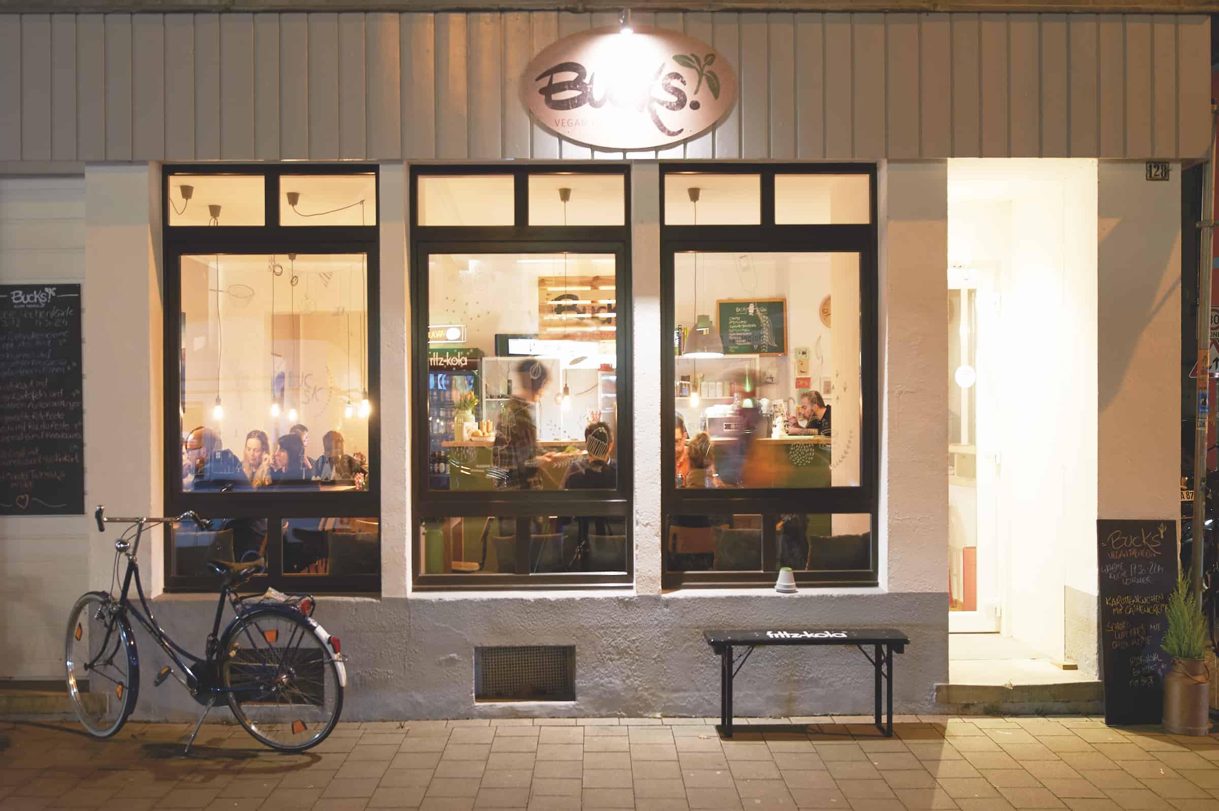 Vegan in Münster: Bucks
