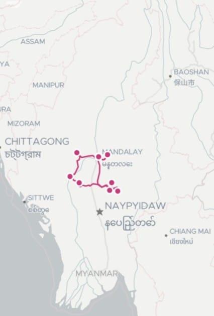 12 Tage Vegan Tour durch Myanmar