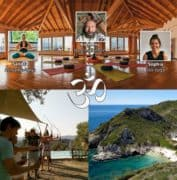Meditation Yoga Bogenschießen - auf der Insel Korfu