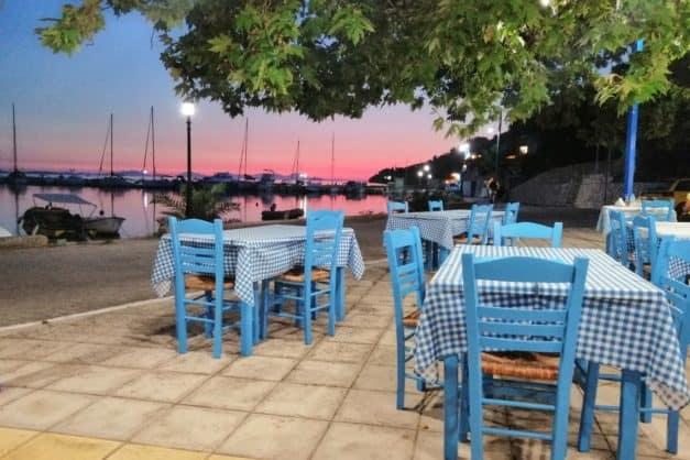 Vegane Segelreise in Griechenland