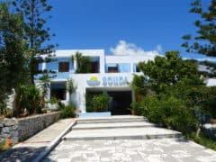 Zentrum Philoxenia: familiäres Hotel direkt am Meer
