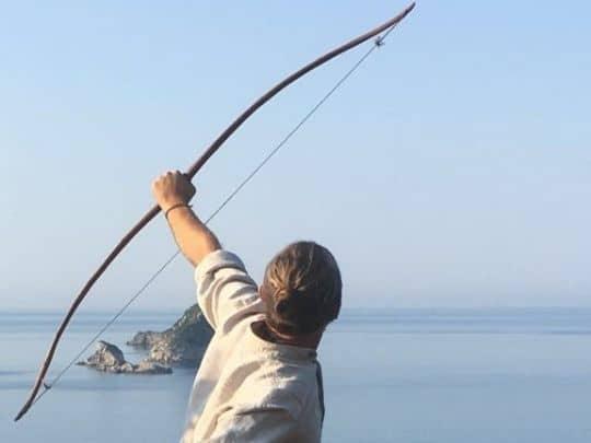 Meditation Yoga Bogenschießen - auf der Insel Korfu 5